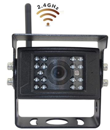 Digital Wireless HD Bracket Camera for Wireless DVR System (Switch to Turn off IR Lights)