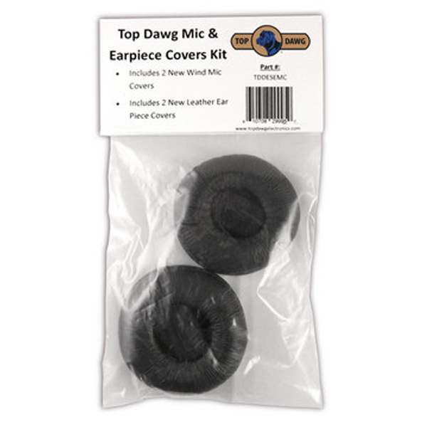 Top Dawg Mic & Earpiece Covers