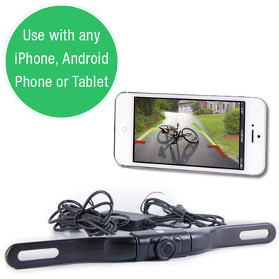 WIFI LICENSE PLATE BACKUP CAMERA