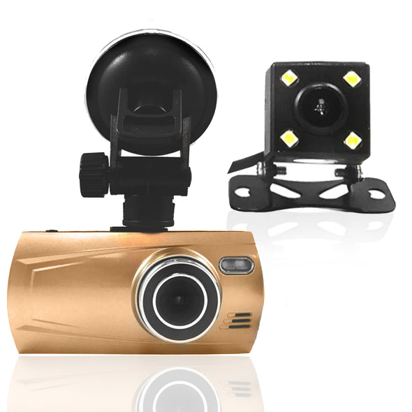Top Dawg DUAL Camera Trucker Dash Camera