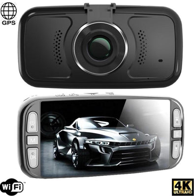4K Dash Camera with WIFI