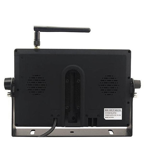 "Monitor with DVR for Digital Wireless 9"" LCD"