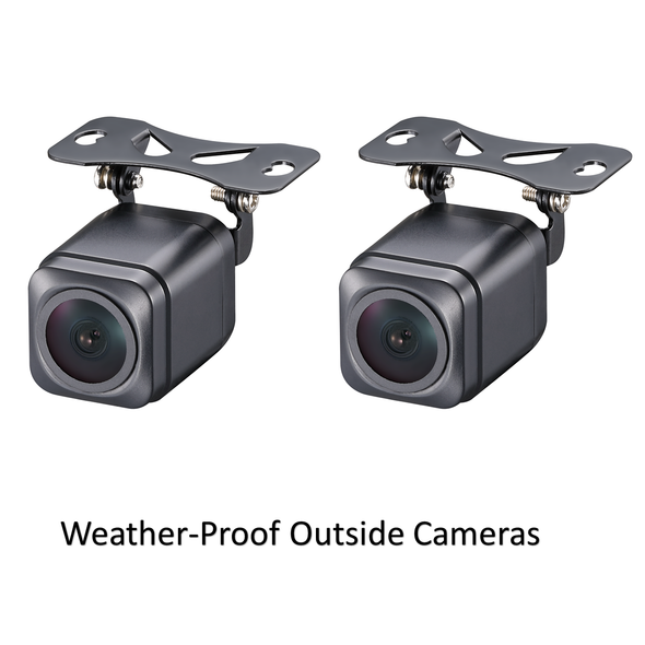 Top Dawg Eagle Eye TRIPLE Camera Dash Cam System
