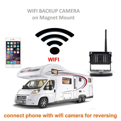 HEAVY DUTY WIFI BACKUP CAMERA SYSTEM PORTABLE