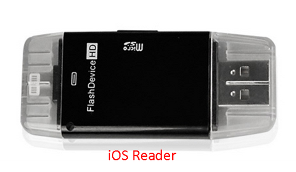 SD Card Reader for Apple or Android Phones/Tablets!