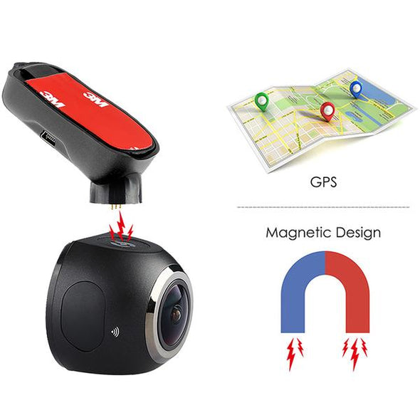 Top Dawg MINI Dash Camera with WIFI