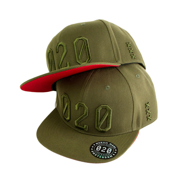 Mokum Made cap (020 serie) Army Green