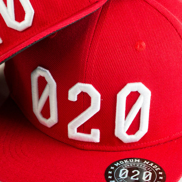 020 Cap RED/WHITE