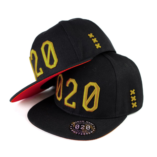 020 Cap BLACK/GOLD