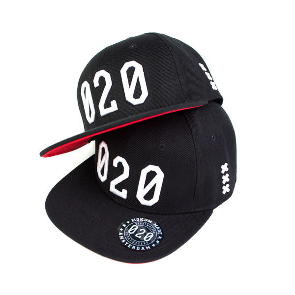 020 Cap BLACK/WHITE Kids