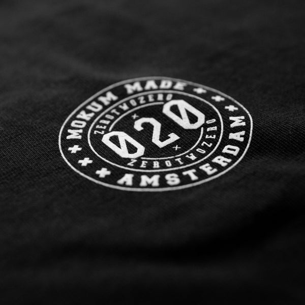 Mokum Made Member shirt - Black/White