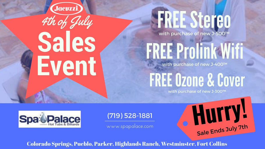 4th of July Sales Event!