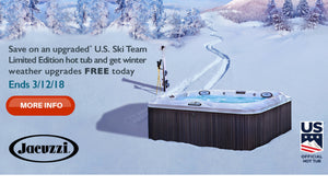 Save on upgraded* U.S. Ski Team Limited Edition and get winter weather upgrades FREE today!