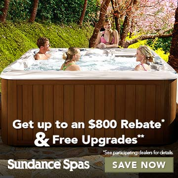 Sundance® Spas Twice as Nice Sale!