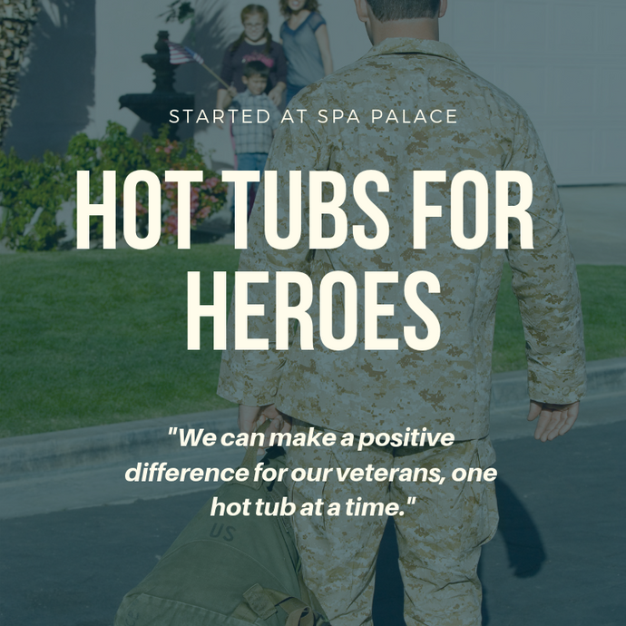 Did you know that your hot tub purchase helps a LOCAL Colorado Veteran in Need?