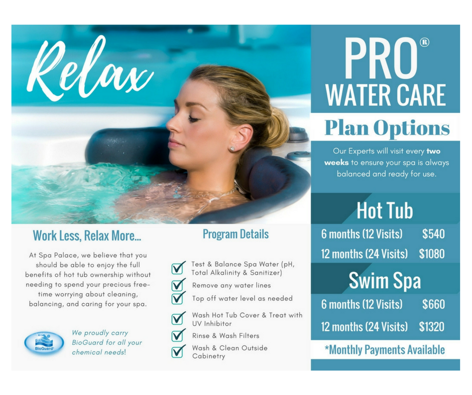 Relax! Hot Tub Maintenance Program