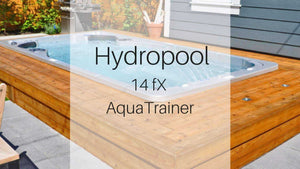 Hydropool 14fX AquaTrainer Swim Spa | Spa Palace