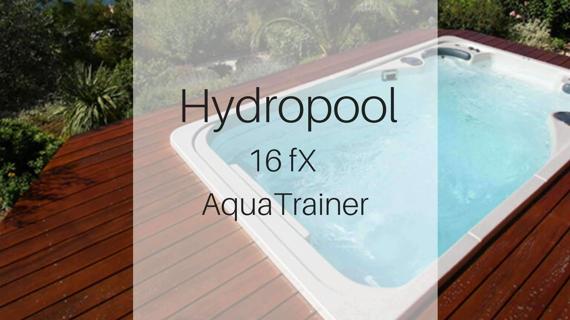 Hydropool 16fX AquaTrainer Swim Spa | Spa Palace