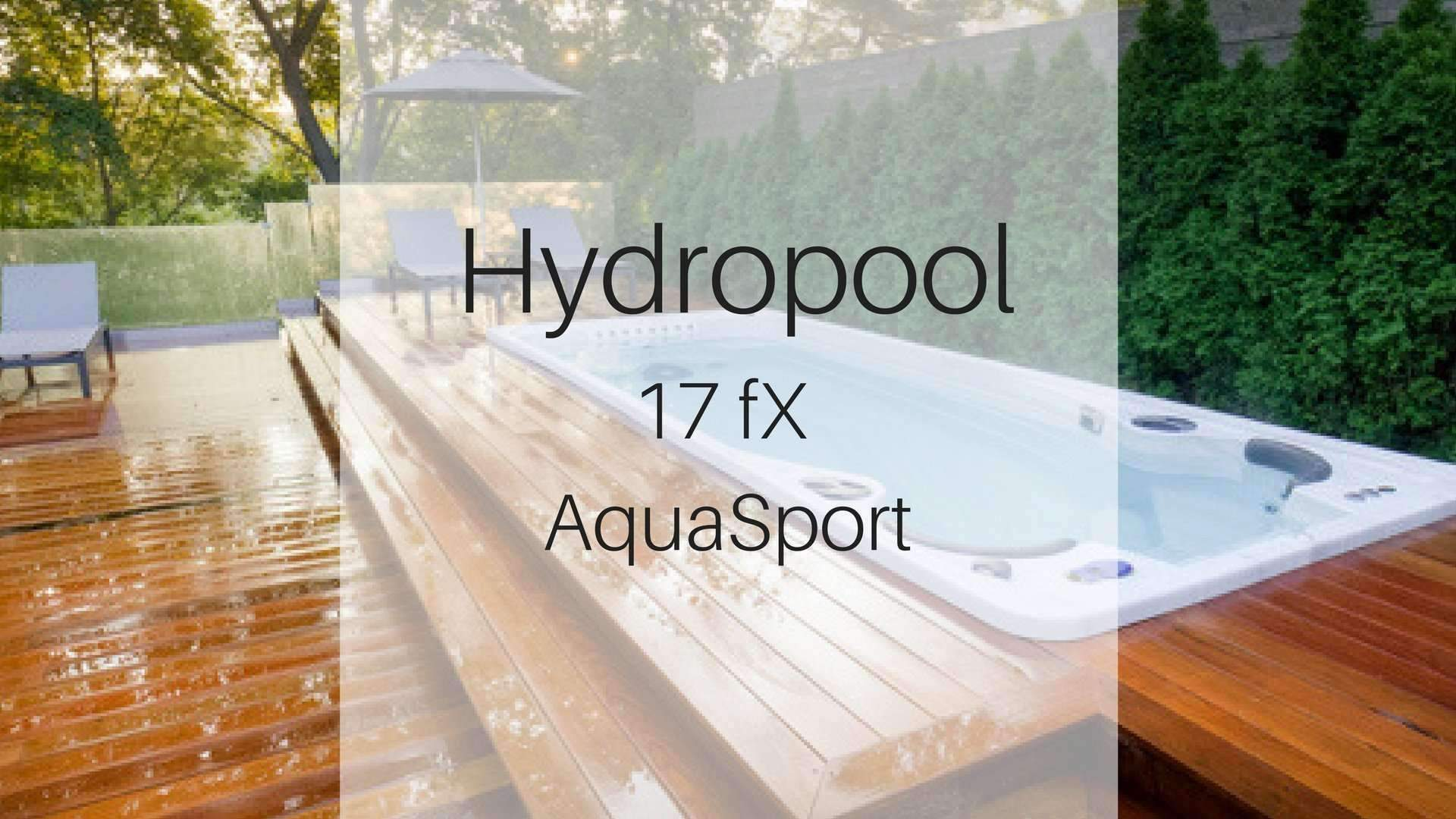 Hydropool 17fX AquaSport Swim Spa | Spa Palace