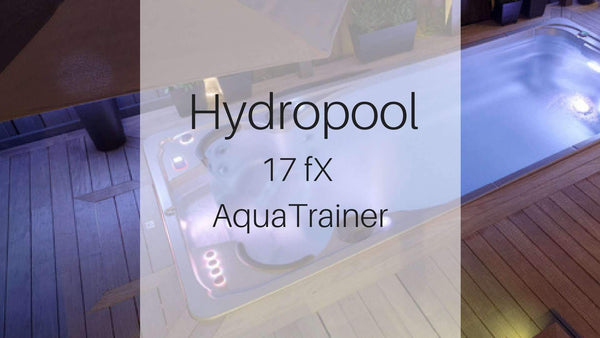 Hydropool 17fX AquaTrainer Swim Spa available at Spa Palace Colorado