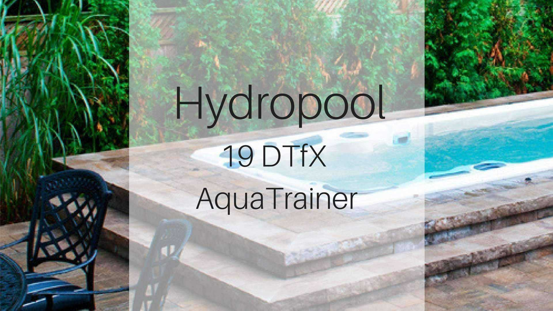 Hydropool 19DTfX AquaSport Swim Spa | Spa Palace