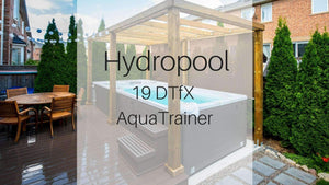 Hydropool 19DTfX AquaTrainer Swim Spa