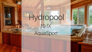 Hydropool 19fX AquaSport Swim Spa