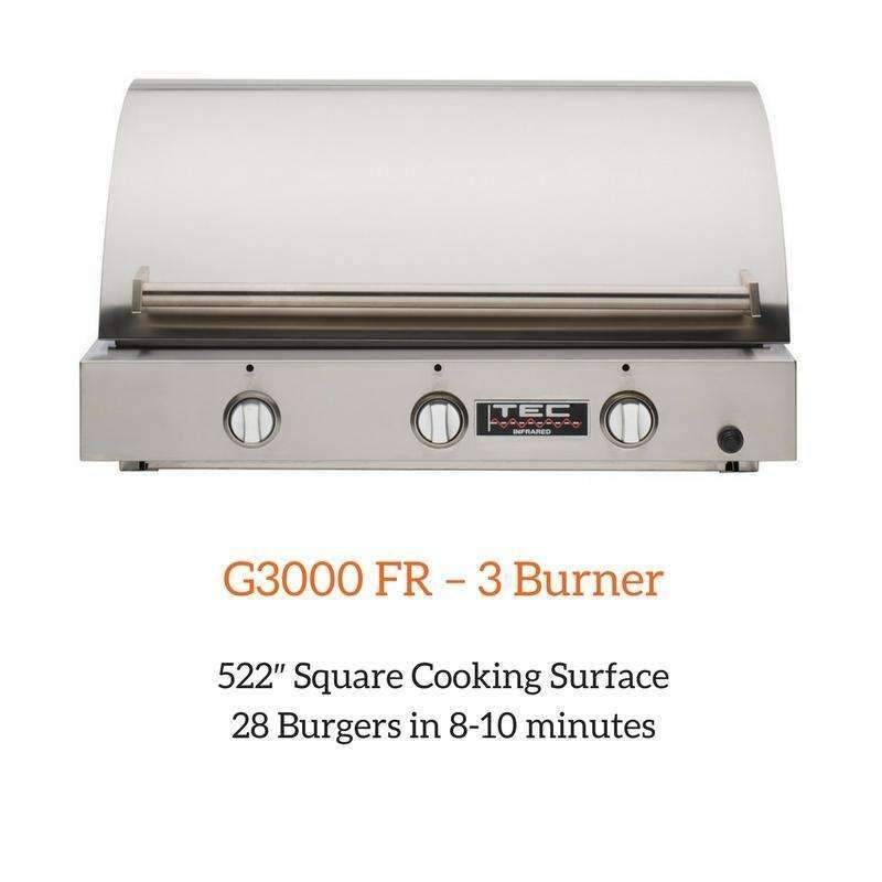 Sterling G3000 FR – 3 Burner | Spa Palace
