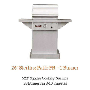 "TEC 26"" Sterling Patio FR – 1 Burner Grill 