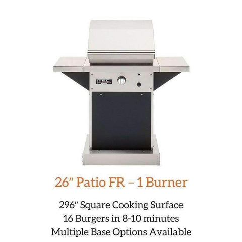 TEC 26″ Patio FR – 1 Burner Grill | Spa Palace