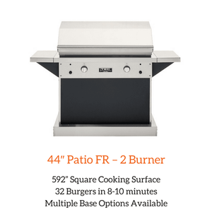 TEC 44″ Patio FR – 2 Burner Grill