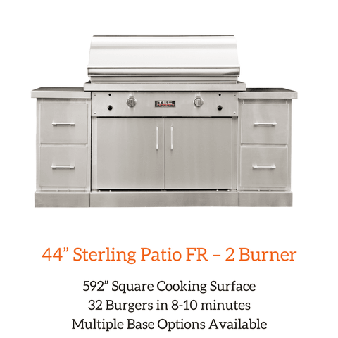"TEC 44"" Sterling Patio FR – 2 Burner Grill 