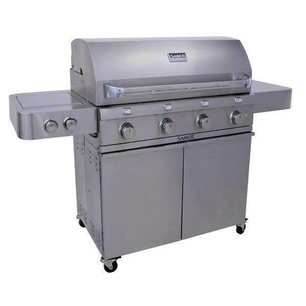 Saber 670 LP Stainless Grill