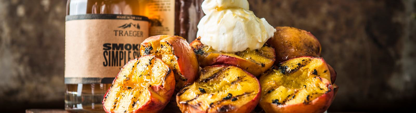 GRILLED HONEY BOURBON PEACHES | Spa Palace