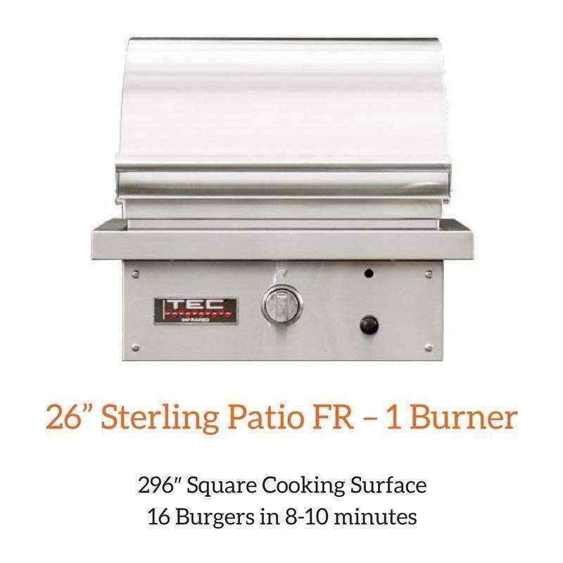 "TEC 26"" Sterling Patio FR Grill"