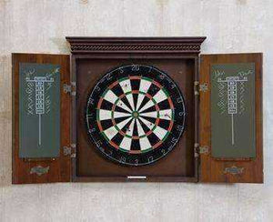 Cavalier Dartboard Cabinet by American Heritage available at Spa Palace Colorado