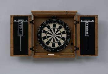 Gateway Dart Board Cabinet by American Heritage available at Spa Palace Colorado