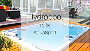 Hydropool 12 fX AquaSport Swim Spa | Spa Palace