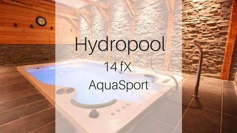 Hydropool 14fX AquaSport Swim Spa | Spa Palace