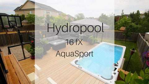 Hydropool 16fX AquaSport Swim Spa | Spa Palace