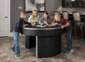 ORBIT ELIMINATOR AIR HOCKEY TABLE-BLACK from Spa Palace Colorado