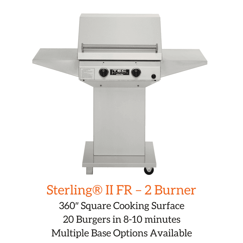 Sterling® II FR – 2 Burner | Spa Palace