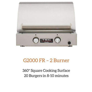 Sterling G2000 FR – 2 Burner | Spa Palace