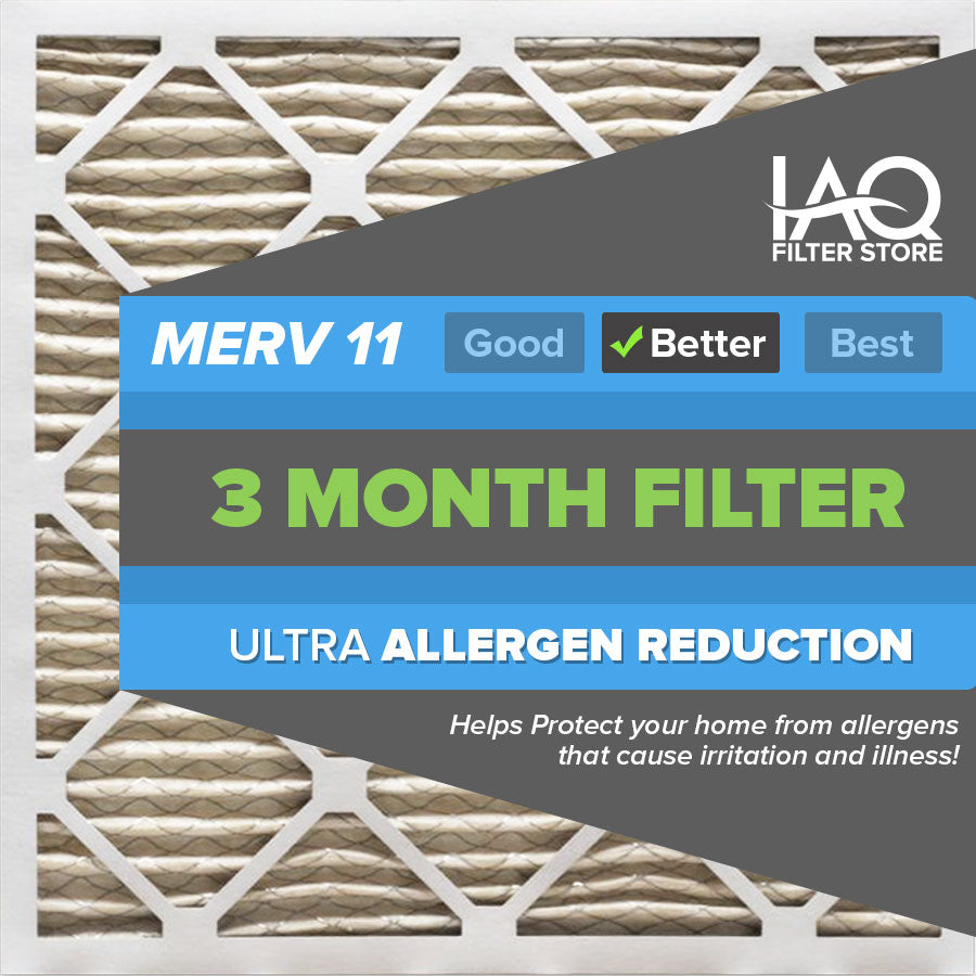 20x25x1 MERV 11 - 6 PK - Ultra Allergen Furnace & AC Air Filters