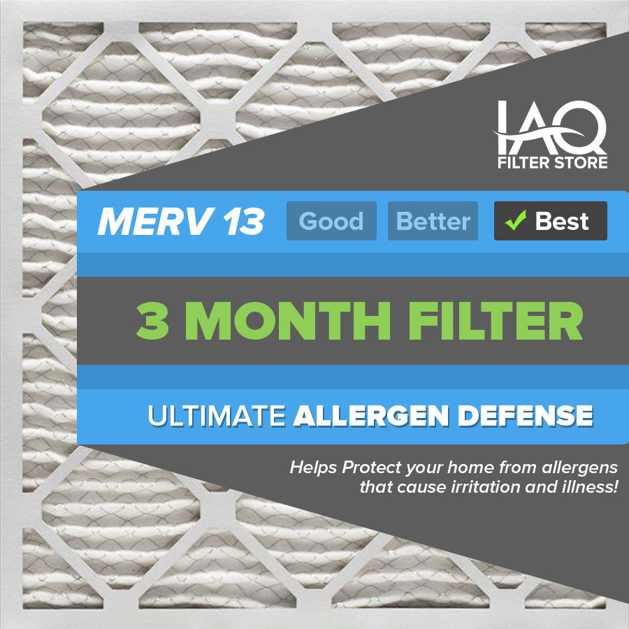 20x25x1 MERV 13 - 6 PK - Ultimate Allergen Furnace & AC Air Filters