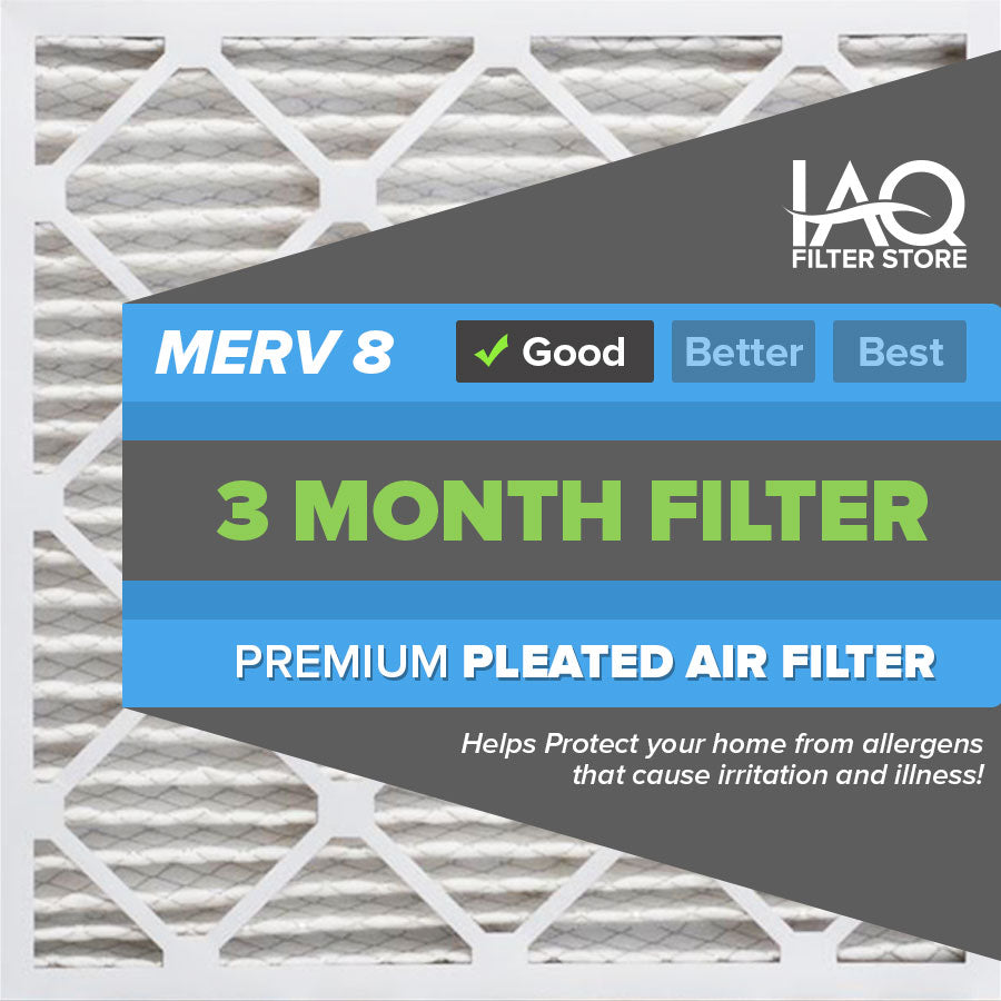 10x16x4 MERV 8 - 6 PK - Premium Furnace & AC Air Filters