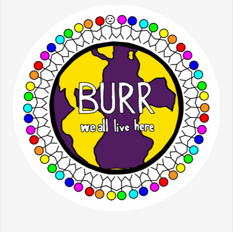 Burr Elementary Repositionable WALH Logo Decal