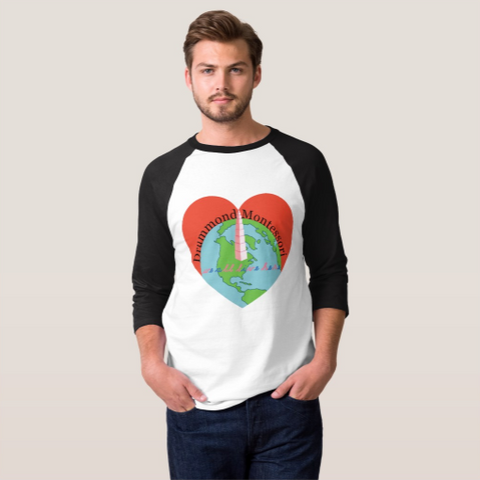 Men's 3/4 Sleeve Raglan T-Shirt