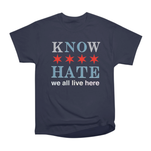 KNOW NO HATE Tee
