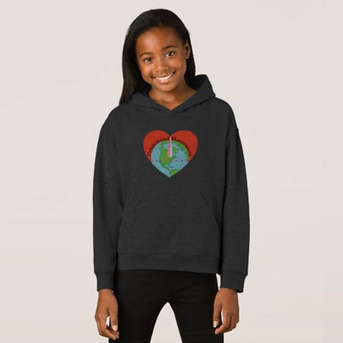 we all live here Drummond Hooded Sweatshirt (KIDS)